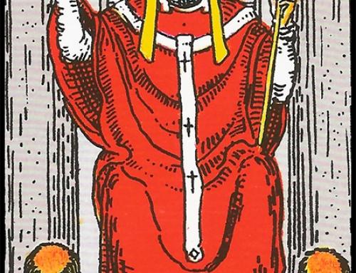El Sumo Sacerdore o El Hierofante, Arcano Mayor Número 5