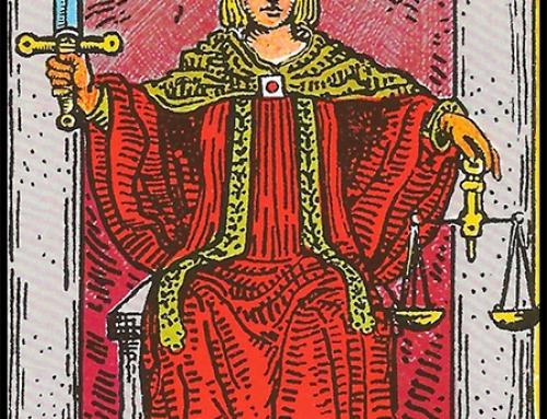 La Justicia, Significado del Arcano Mayor La justicia