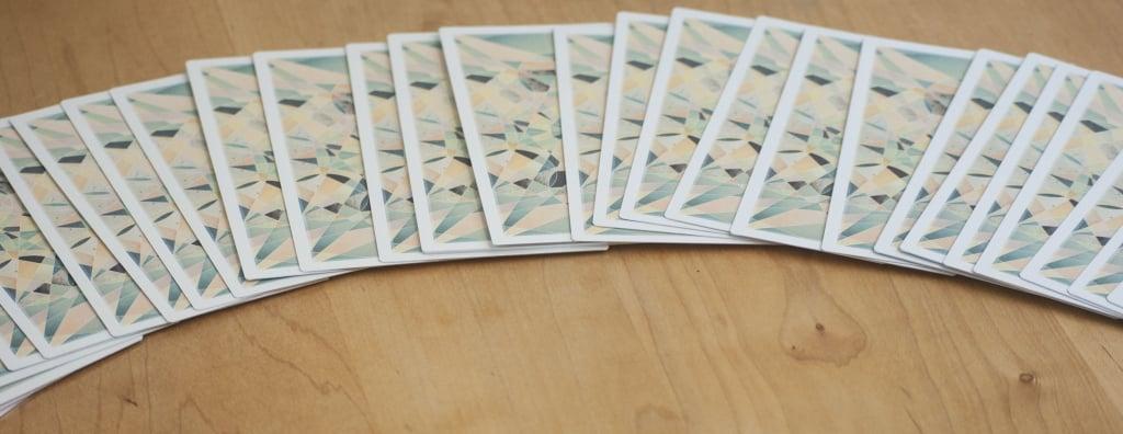barajar cartas de tarot
